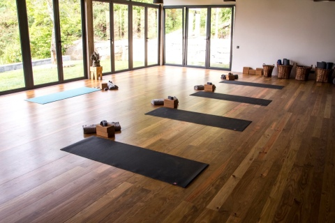 Yoga studio with amazing view - yoga retreat portugal