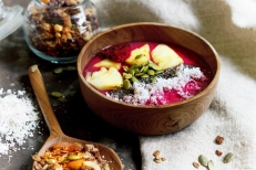 Organic, natural food - A taste of Happiness retreat