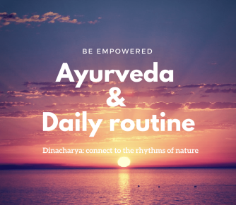 Ayurveda & daily routine afb