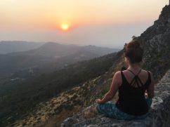 Meditate on the sun