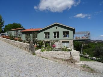 The main house of D'Alijo retreat centre