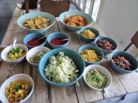 Delicious organic foods
