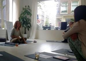 Alma Yoga stress release workshop